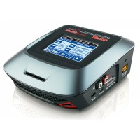 Original Skyrc T6755 AC DC Fast Charge Balance Charger with 3.2inch (320*240) Touch Sensitive Color LCD Screen