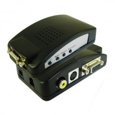 RCA Composite S-video VGA to VGA Monitor Converter S-video/Composite RCA to VGA Converter