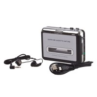 Portable Tape To PC Super USB Cassette-To-MP3 Converter Capture