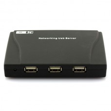 High Quality 4 Port USB HUB Lan Network Server Printer Scanner NAS SPC-0482