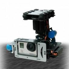 Glass Fiber FPV Gimbal Camera Mount PTZ for Gopro 3 Camera Aerial Photography