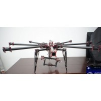 RC Big FPV Heavy-lift aerial Photography Octocopter Eight-axis Professional Folding Rack kits w/Gimbal