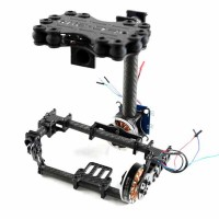 FPV Brushless Camera Gimbal for Mini SLR Sony 5N without Motor & Controller - Carbon Fiber V2.0