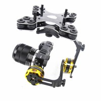 Falcon Pro FPV Brushless Gimbal Camera Mount PTZ with Motors for Mini DSLR & Similiar Cameras Aerial Photography
