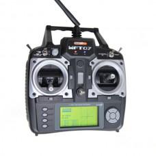 WFLY WFT07 7-Channel 2.4GHz Digital Radio System+ WFR07S 2.4Ghz Receiver