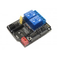 2 Channel Relay Shield Module for Arduino Compatible (With XBee/BTBee Interface)
