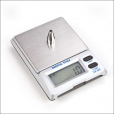 500g x 0.01g Precision Digital Pocket Jewelry Scale- Cigar Box Style (DS-18)