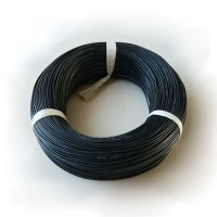 200pcs Black 20AWG Soft Silicone Wire Cable 10cm/100mm For RC Lipo Battery ESC
