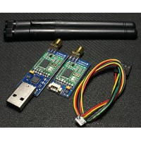 Single TTL 3DRobotics 3DR Radio Telemetry Kit 433Mhz Module for APM APM2.5 Flight Control