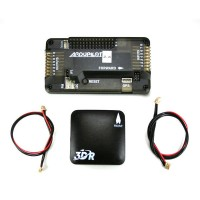 Newly Released 3DR Ardupilot APM 2.6 Flight Control with 3DR uBlox GPS External Compass