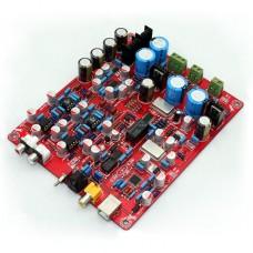 YJ WM8741+WM8805+PCM2706+AD827+NE5534 USB DAC Board Decoder Board