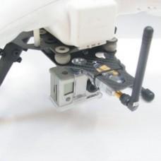 ATG DJI Phantom CF Landing skid w/ Shock Absorber AV Transmission 2 in 1 Plate (Glass Fiber)
