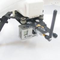 ATG DJI Phantom CF Landing skid w/ Shock Absorber AV Telemetry Plate 2 in 1 Plate (Carbon Fiber)
