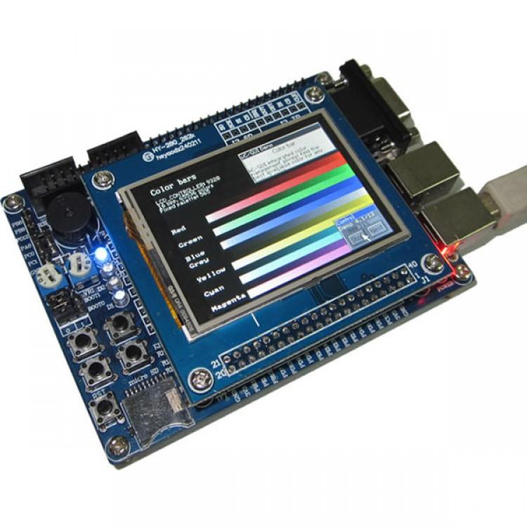 MINI STM32 Dev Board STM32F103VET6 512K FLASH 64K SRAM+2 4 inch LCD