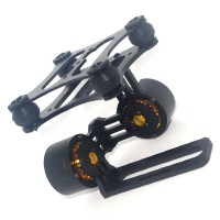 CNC Brushless Camera Mount Gimbal w/Motors Gopro3 DJI Phantom FPV Aerial Photography