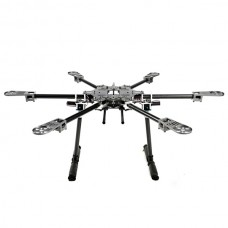 X-CAM X700 Mini High Strength Multi-Copter Carbon Fiber Hexacopter Multicopter w/ CF Landing Skid