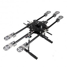 X-CAM X700 Mini Folding Multi-Copter Carbon Fiber Hexacopter Multicopter w/ CF Landing Skid