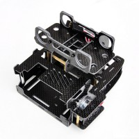 X-CAM X100B 2 Axis Carbon Fiber Brushless GOPRO Gimbal Camera Mount PTZ Kit for FPV Photography