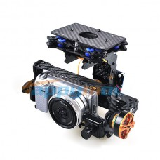 HMG588 Debug-Free FPV Brushless Gimbal Camera Mount  PTZ with Motor & Controller for SLR Sony NEX5 5N 5R