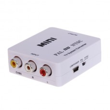 MINI TV System Converter PAL TO NTSC HDV-M616 for NTSC TV Sets Projectors PDP Projection