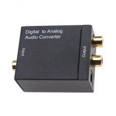 HDV-2M Converters Audio Converter Digital Optical Coax Toslink to Analog Audio Converter Adapters