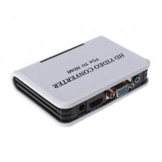 HDV330 VGA to HDMI Transverter VGA TO HDMI 1080P Hd Converter Adapters HD VIDEO CONVERTER VGA TO HDM