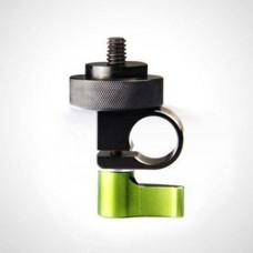 """Lanparte 1/4"""" Thread Single Rod Clamp Microphone Clamp For 15mm Rods Rail System 5D2 Camera"""