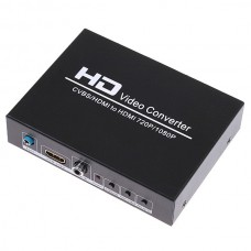 HDV-8A AV to HDMI + HDMI to HDMI for PS2 PS3 PSP WII XBOX360