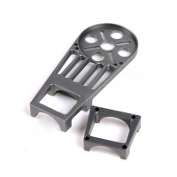 Skyknight Metal Aluminium Motor Mounting Plate Fixture Set for 22mm Carbon Fiber Tube Haxacopter