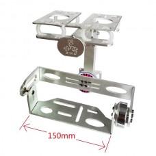 Jetfun FPV Metal Brushless Camera Gimbal w/ Motors & V3 Gimbal Controller GH2 GH3 5N SLR Aerial Photography