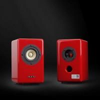 Aune X3 Multicolour Desktop 3 Full-range Speaker Hifi Mini Speaker Computer Speaker - Red