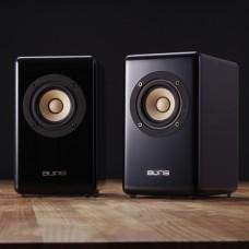 Aune X3 Multicolour Desktop 3 Full-range Speaker Hifi Mini Speaker Computer Speaker - Black