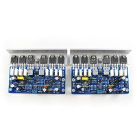 2pcs Boards L25 500W 4ohm KTB817 KTD1047 2SA1186 2SC2837 Amplifier Board 250W 8R