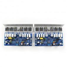2pcs Boards L25 500W 4ohm KTB817 KTD1047 2SA1186 2SC2837 Amplifier Board 250W 8R