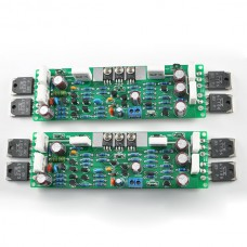 2pcs Mono L12-2 Power Amplifier Board AMP Assembled 2-CH 120W + - 55V Kit Only