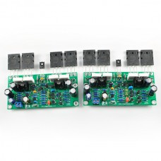 Assembled L20 SE 350W+350W Simplified Dual Channel 2CH Amplifier Boards Adopts Toshiba A1943 C5200 chip