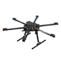 Tarot FY680 3K Pure Carbon Fiber Full Folding Hexacopter 680mm FPV Aircraft Frame TL68B01