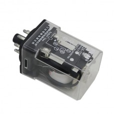 JQX-10F 2Z AC 220V Coil 10A 30V DC General Purpose Relay DPDT 8 Pin