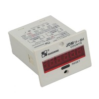 Baoshide AC 220V 0-999999 Electronic Accumulate Counter AN-11 JDM11-6H
