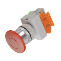 10A Electrical Red LED Mushroom Push Button Switch