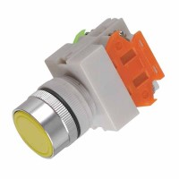 660V 10A PBCY090 Yellow Pushbutton Selector Push Button Switch
