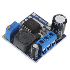DC-DC 3.7V~34V Out Adjustable DC-DC Boost Circuit Module Inverter Booster Blue Board