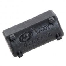 0.2uf 1200V Capacitor for Motor Metallized Polypropylene Film Capacitor 10-Pack
