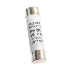 RO15 Series 500V 2A Cylinder Caps Fuse Protectors 20PCS