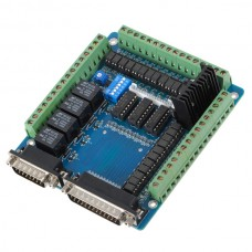 5 Axis Breakout Board for Stepper Motor Driver CNC