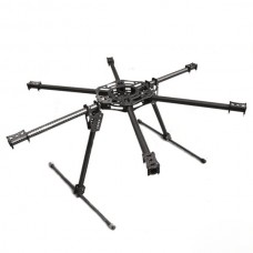 FC Ares 22mm Carbon Fiber Multicopter FPV Hexa-rotor Copter Strengthen Hexacopter Airframe Kit