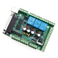 CNC MACH3 USB 6 Axis Interface Breakout Board Adapter For Stepper Motor Driver