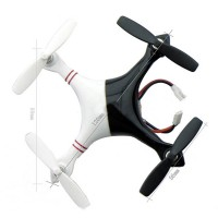 Taiji Balck+White 2.4G 3D 4 Channel Six-Axis GYRO Mini UFO Quadcopter Flying Saucer Aircraft
