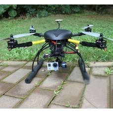 XAircraft X650 Pro Value Carbon Fiber RC Quadcopter +DJI WK-M Flight Control+FUTABA 14SG 2.4G ARF Multicopter Kit