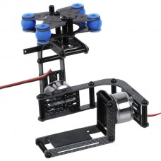 GO STEADI 2-Axis FPV Brushless Gimbal Antivibration Gimbal & 2pcs Motors f/ Gopro 3 -DJI Phantom Compatible